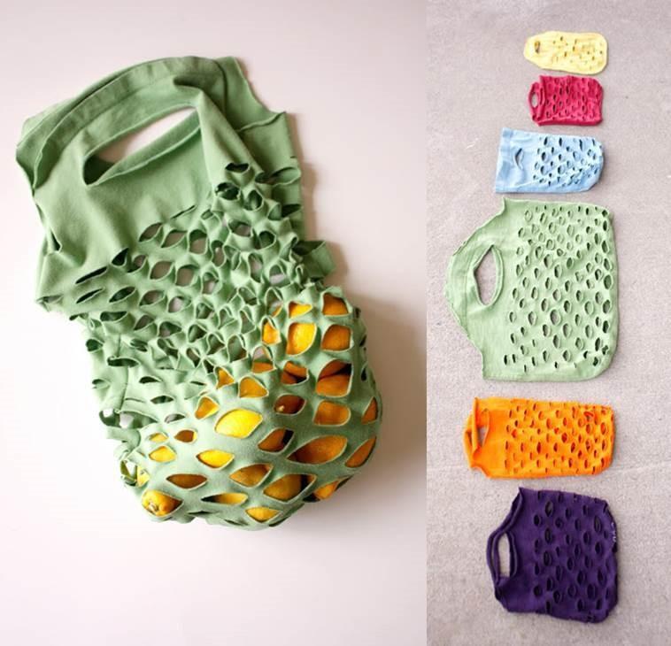 tas van oude kleren