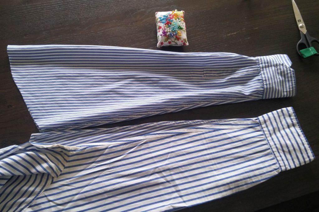 restyle men's shirt DIY (7)