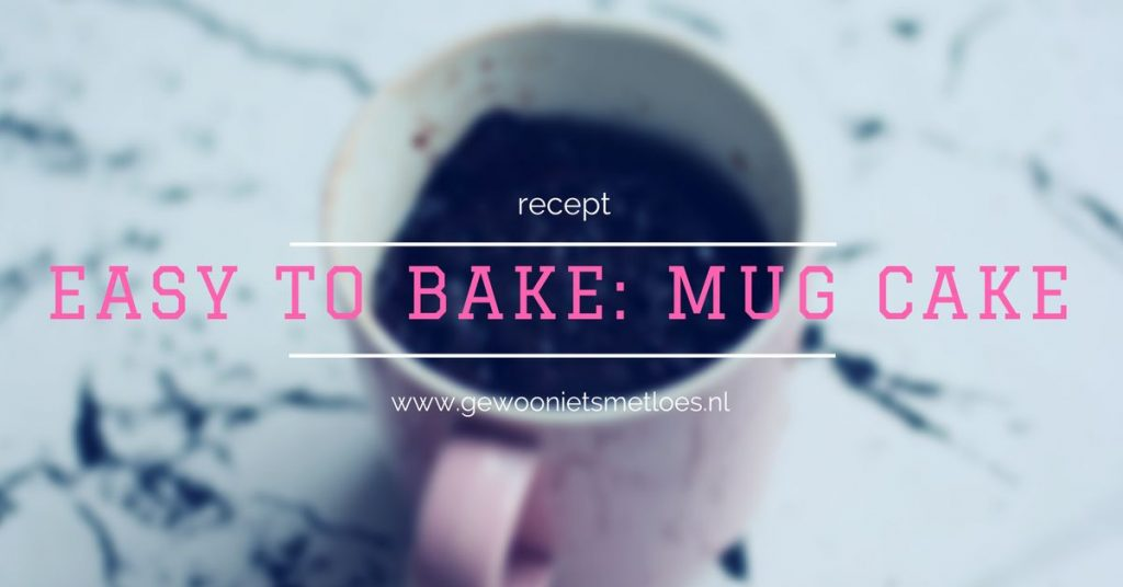 mug cake easy to bake