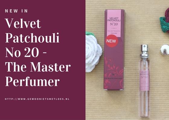 velvet patchouli no 20 master perfumer