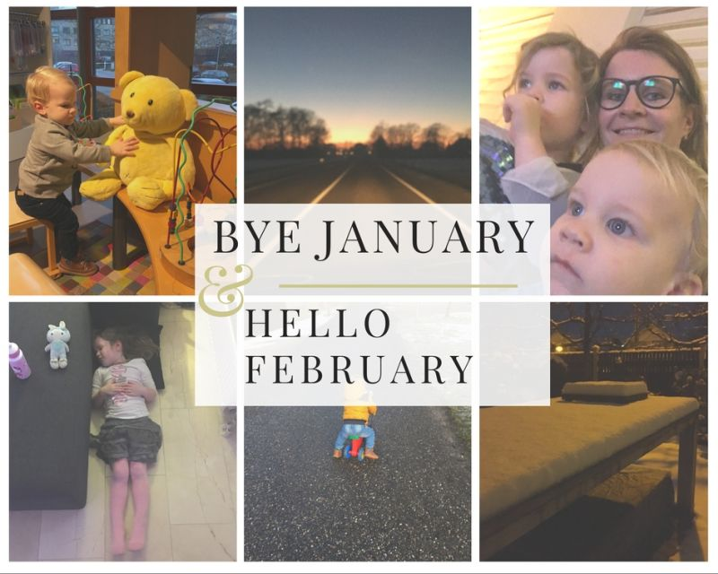 Bye January Hello February 2017