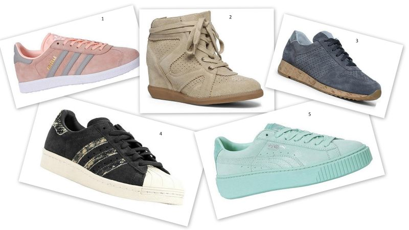 zin in lente sneakers dames