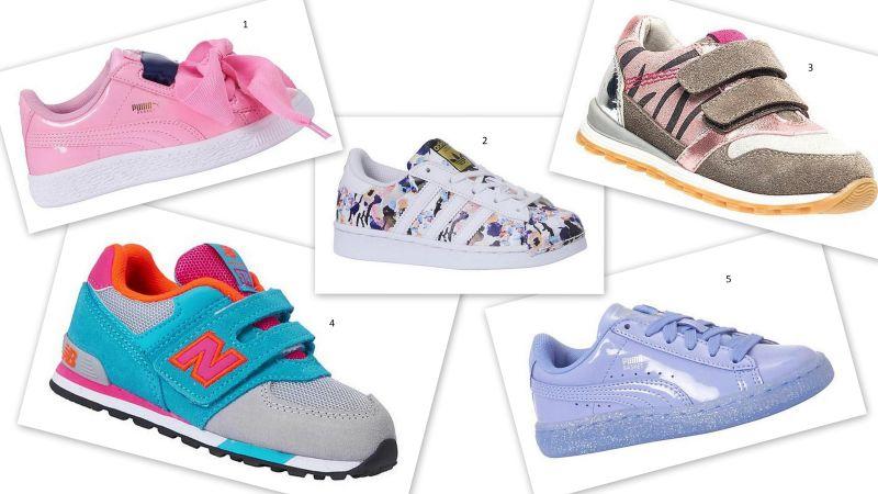zin in lente sneakers meisjes