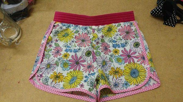 paroon korte broek naaien