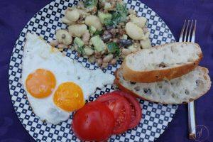 recept voor warm weer linzen-bonensalade (3)-