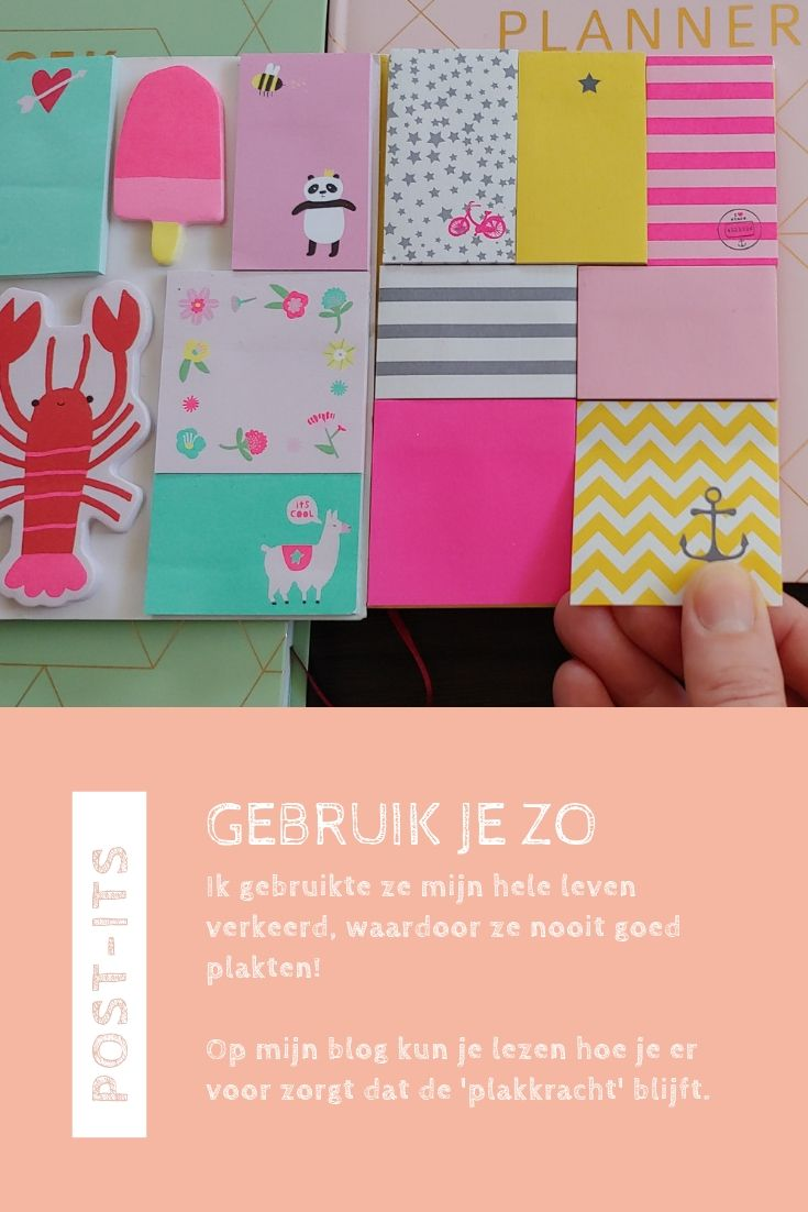 Pinterest Post-its plakken doe je zo